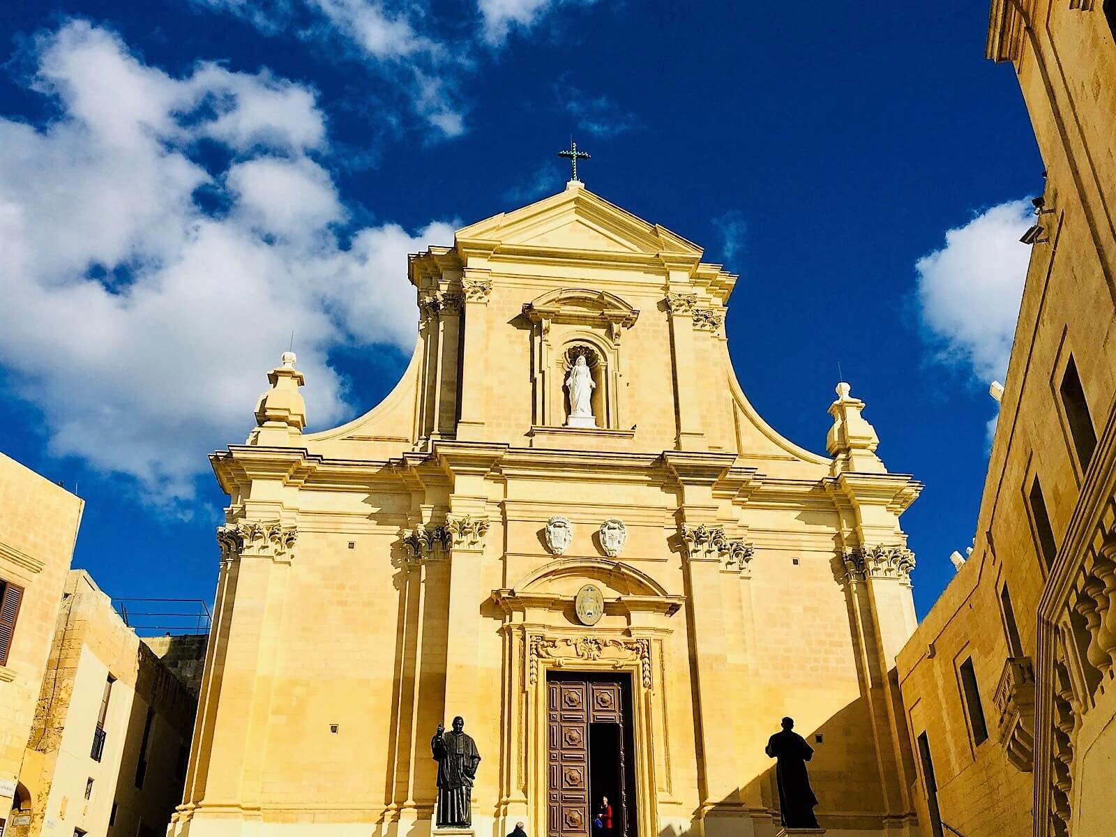 Church spotted during dog travel Malta