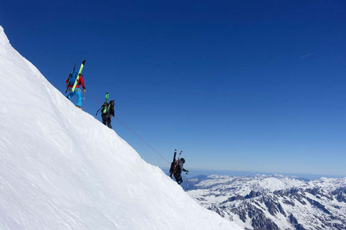 Climbers-French-Alps